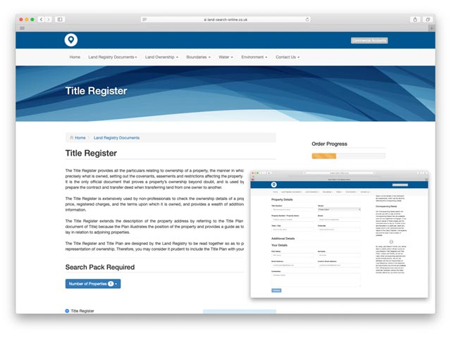 Check the Land Registry Online